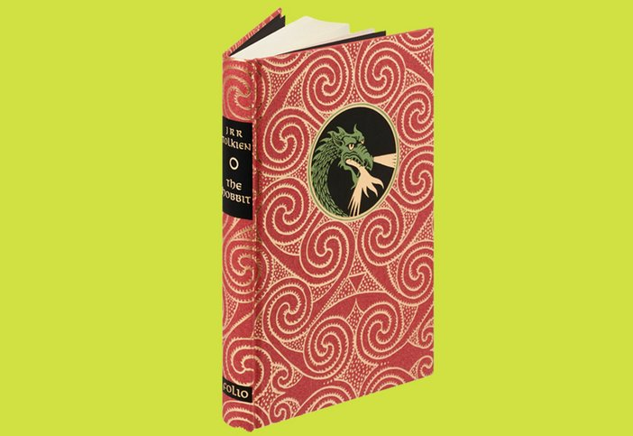 The Folio Society edition of The Hobbit by J. R. R. Tolkein, illustrated by Eric Fraser, £27.95