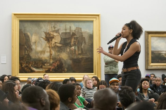 Poetry Luv, Sofia Thakur at Late at Tate Britain, February 2014