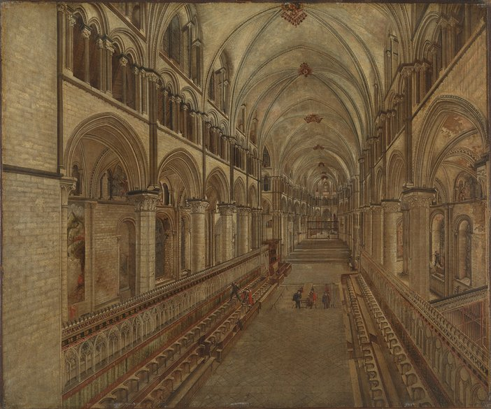 Thomas Johnson Canterbury Cathedral Choir, 1657. Private Collection