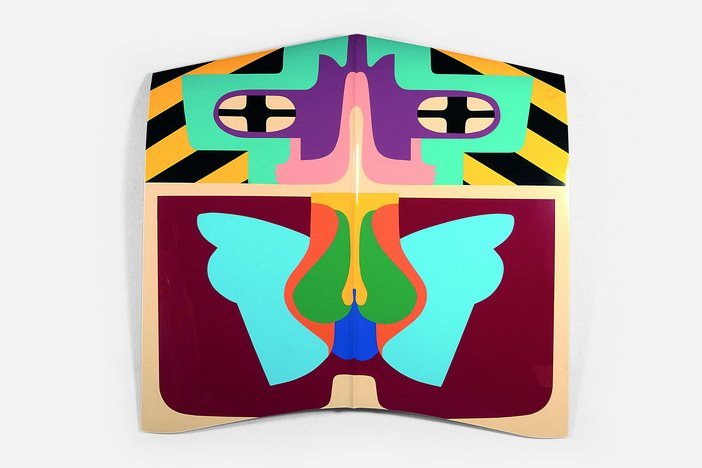Judy Chicago, Flight Hood, 1965-2011