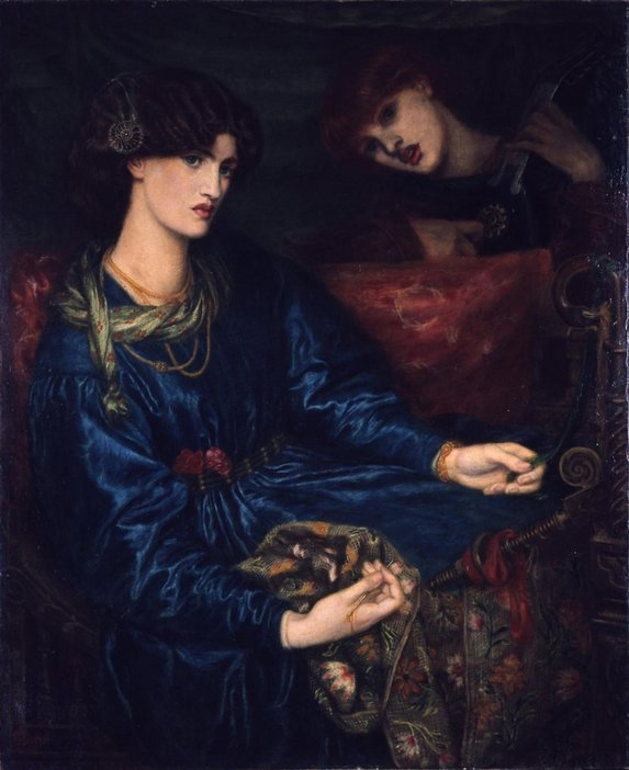 Dante Gabriel Rossetti Mariana 1870 Oil on canvas Aberdeen Art Gallery & Museum Collection