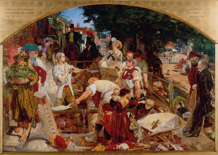 Ford Madox Brown Work 1852-1865