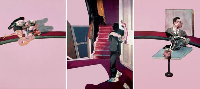 Francis Bacon Triptych – In Memory of George Dyer 1971