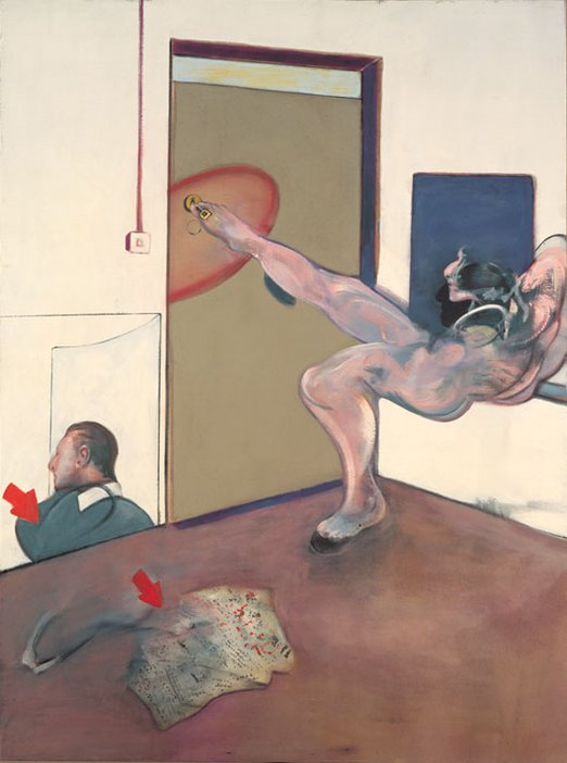 Francis Bacon Painting 1978