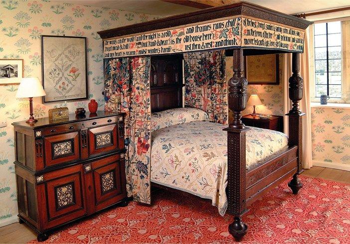 William Morrisu0027s Bed