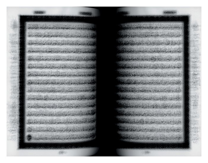 Idris Khan every... page of the Holy Qu'ran 2004