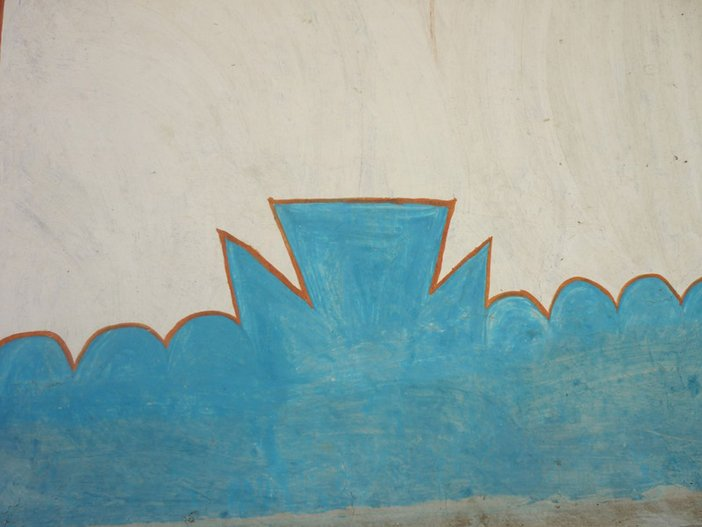 Pardhan Gonds tribe wall art, India