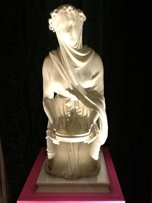 Raffaelle Monti, A Veiled Vestal Virgin 1846-7