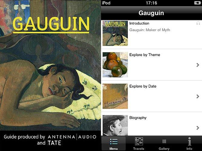 Gaugin: Maker of Myth app