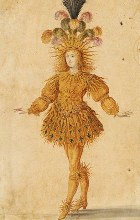 Henri Gissey Louis XIV as Apollo 1653