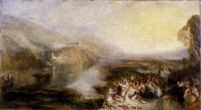 J.M.W. Turner The Opening of the Wallhalla, 1842 exhibited 1843 after cleaning