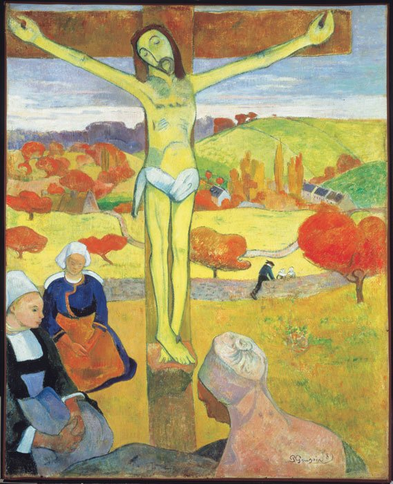 Paul Gauguin Yellow Christ 1889