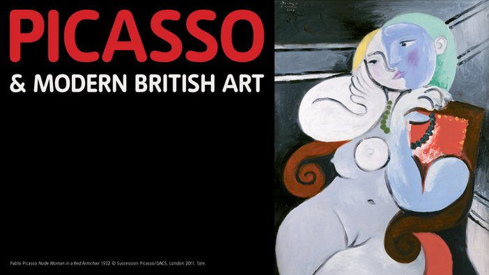 Picasso and Modern British Art exhibition at Tate Britain