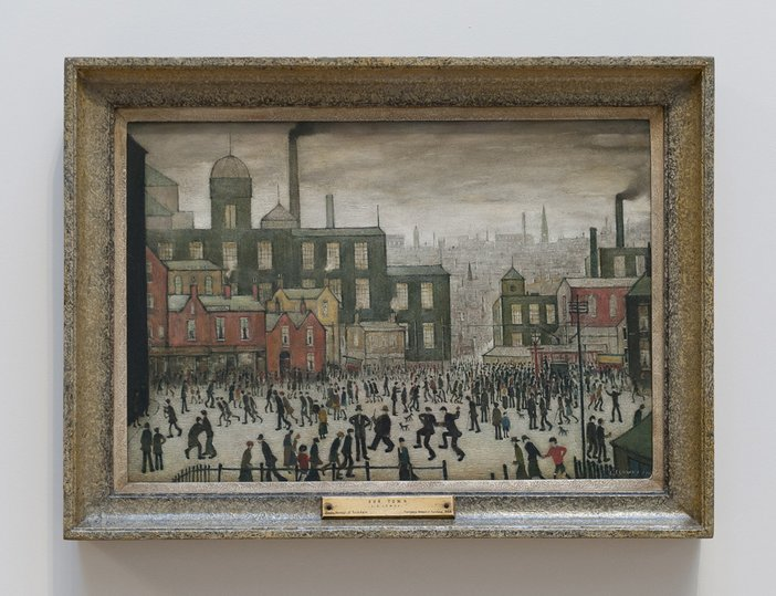 L. S. Lowry Old Town 1941 © The Estate of LS Lowry