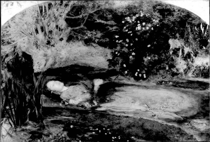 Ophelia under infra-red