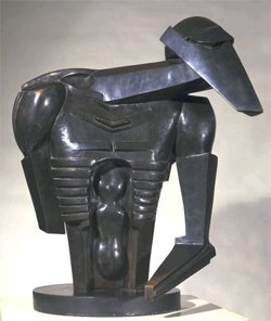 Jacob Epstein Torso in Metal from 'The Rock Drill' 1913-14