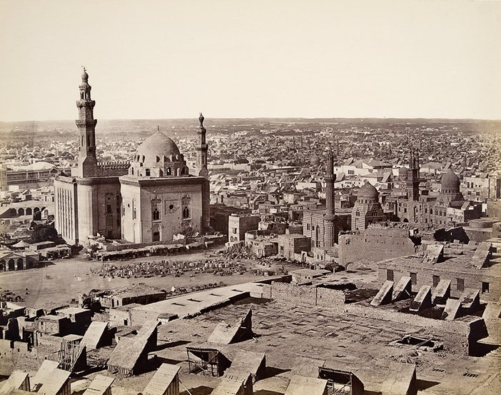 Francis Frith, Cairo from the Citadel First View 1857