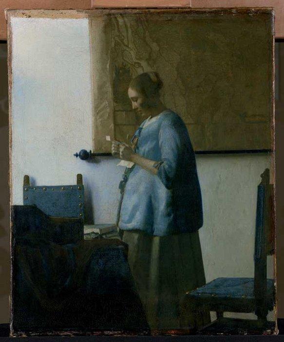Jan Vermeer Woman Reading a Letter 1662–3