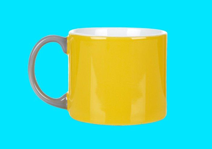 Jansen yellow mug, Tate online shop, £10.00
