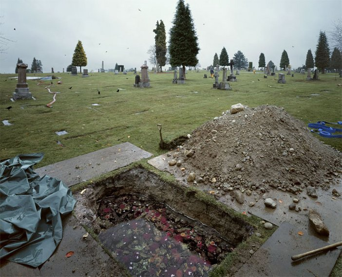 Jeff Wall The Flooded Grave 1998–2000