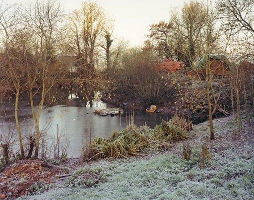 Jem Southam The Pond at Upton Pyne January 1997 diptych 1997