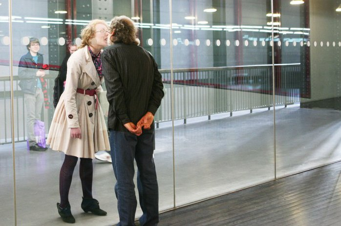 Jiří Kovanda, Kissing Through Glass 2007