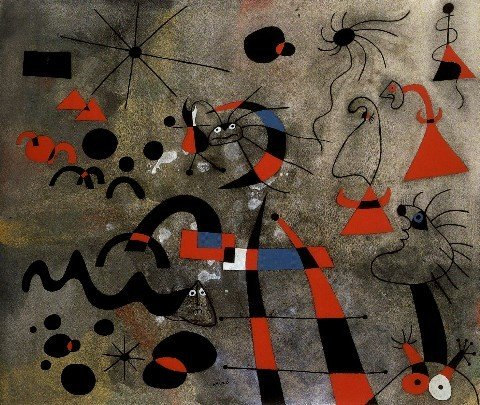 Joan Miró 'The Escape Ladder' 1940