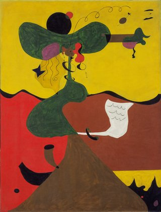 Joan Miro Portrait of Mrs Mills in 1750