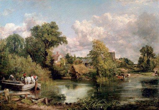 John Constable The White Horse 1819