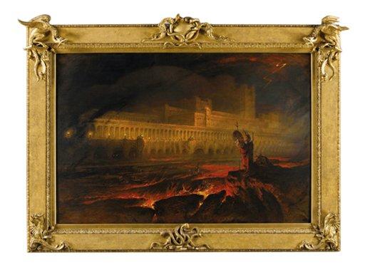 John Martin Pandemonium 1841