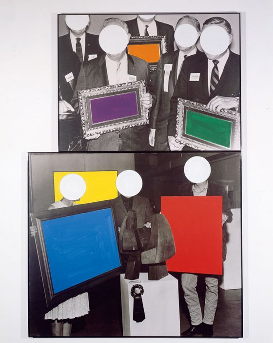 John Baldessari Frames and Ribbon 1988