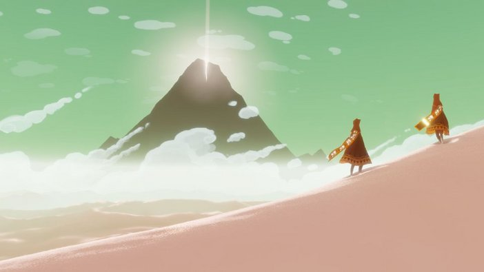Art direction in video games Journey 2