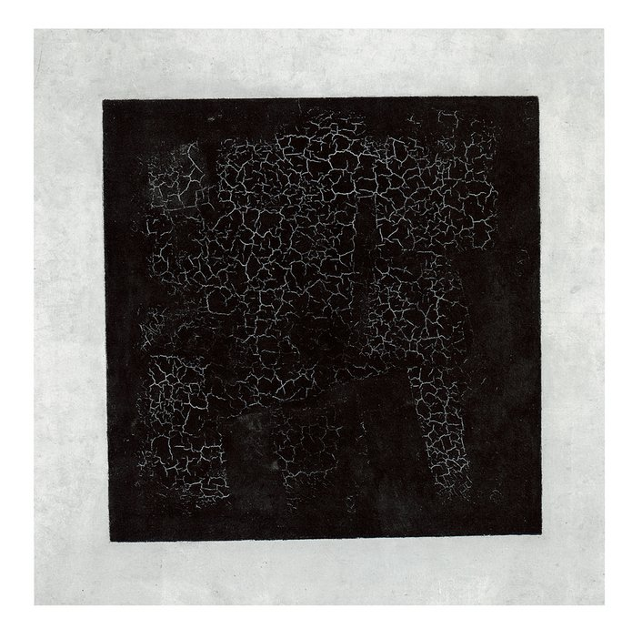 Kasimir Malevich Black Square on a White Ground 1914–15