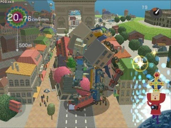 Art direction in video games Katamari Damacy 1