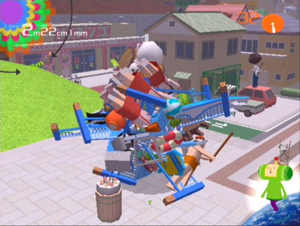 Art direction in video games Katamari Damacy 2