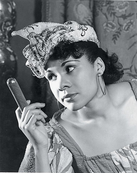 Katherine Dunham as Woman with a Cigar from the ballet Tropics