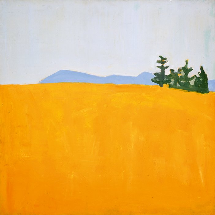 Alex Katz Ives Field 1956