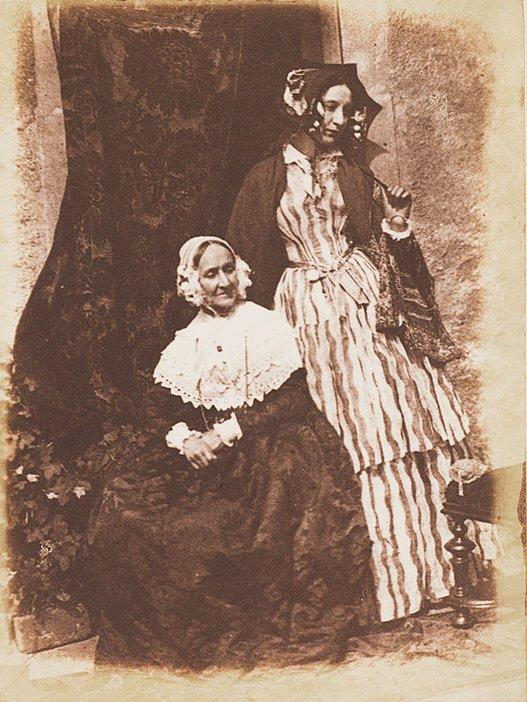 DO Hill and Robert Adamson, Mrs Anne Rigby and Miss Elizabeth Rigby (later Elizabeth, Lady Eastlake) 1844–6