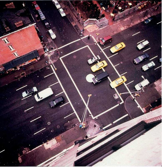 Kirsten Mosher Ball Park Traffic New York, 1998