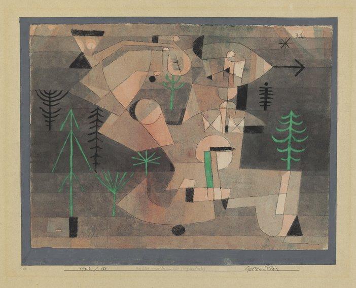 Paul Klee Project for a Garden 1922 Paul Klee Stiftung, Zentrum Paul Klee