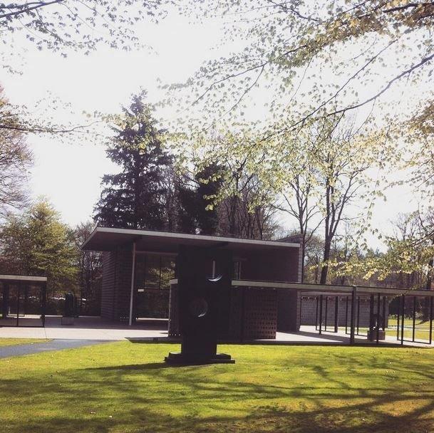Rietveld Pavilion at the Kroller-Muller Museum