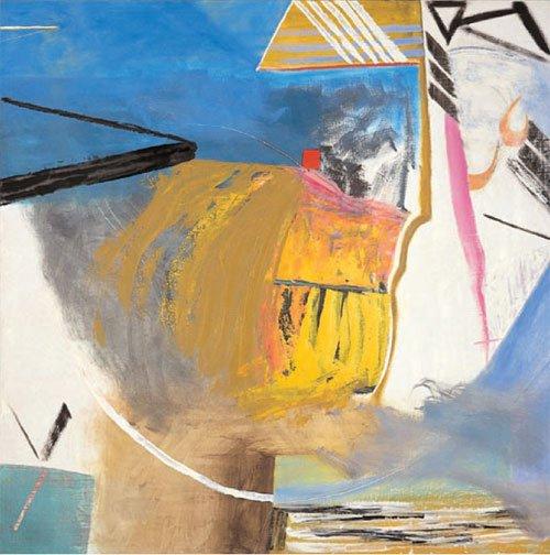 Matthew Lanyon Highground III 2006 Oil on canvas