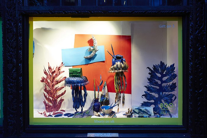 Liberty Matisse cut-outs window 2014