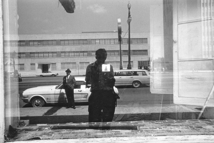 Lee Friedlander New Orleans, Louisiana 1968