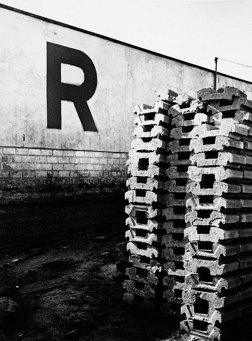 Alfredo Camisa, Urban Alphabet R 1961 printed 2005