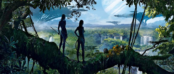 Dylan Cole Concept artwork for Avatar 2007