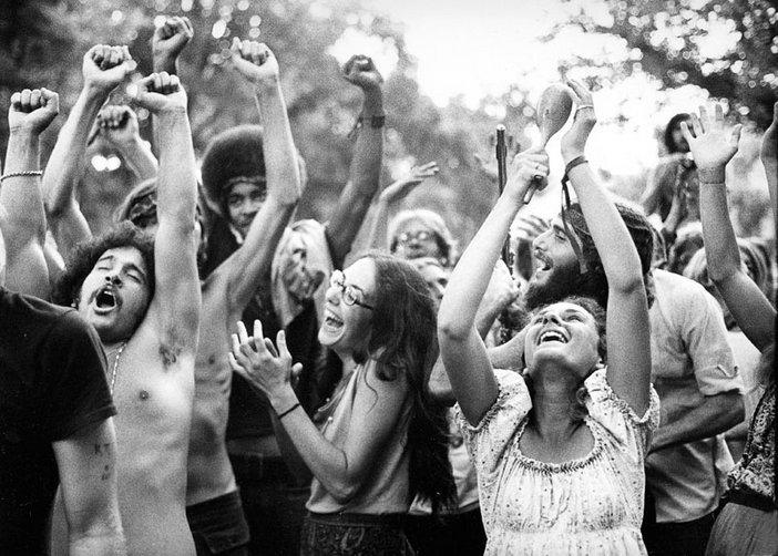 Robert Altman Photograph of the Holy Man Jam Boulder Colorado 1970