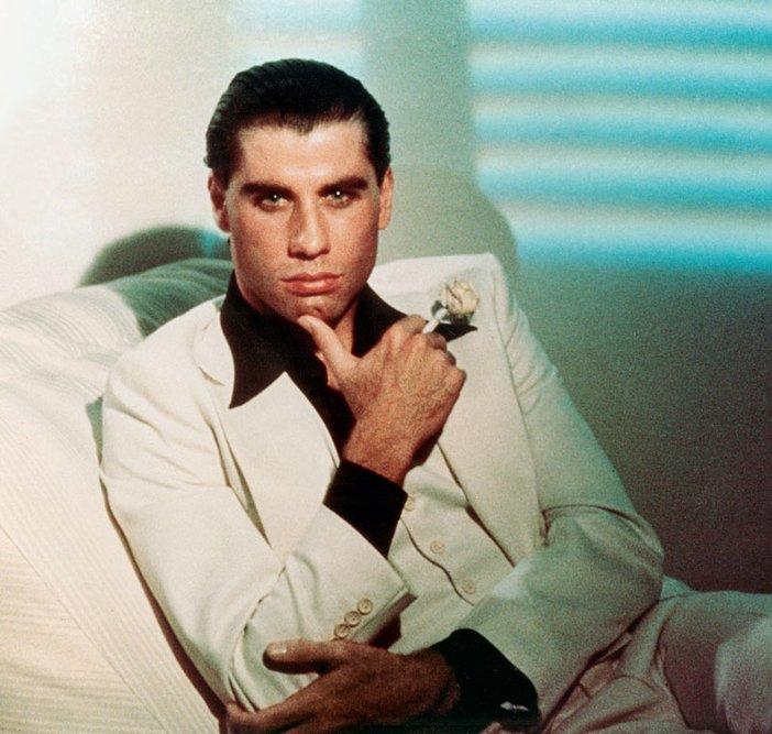 John Travolta as Tony Manero in Saturday Night Fever 1977 Film still