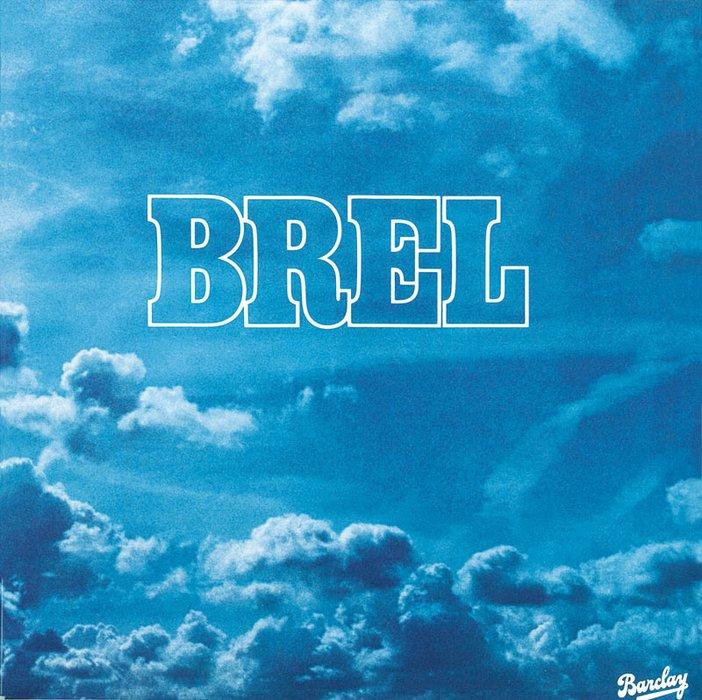 Cover of Jacques Brels album Brel released in 1977