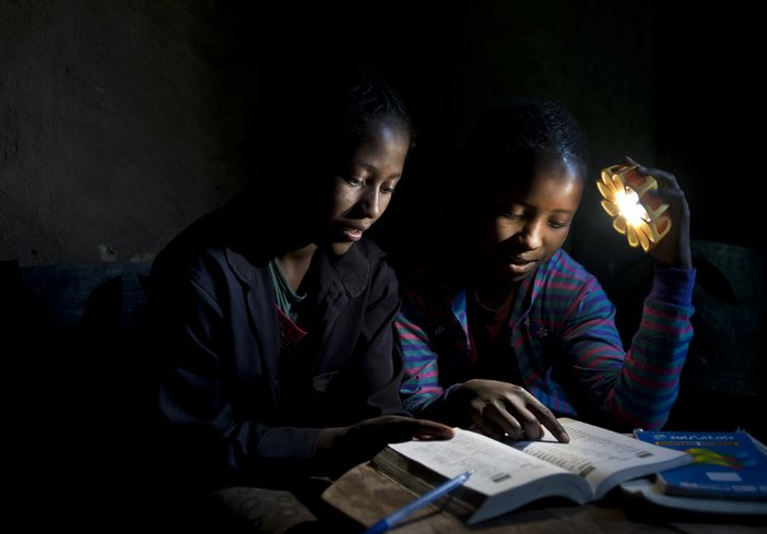 Studying with the Little Sun, Photocredit: Michael Tsegaye
